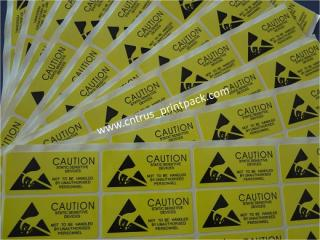 Caution Warning Adhesive Stickers